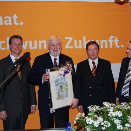 2008 Peter Harry Carstensen zu Gast in Appen