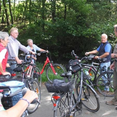 2013 Fahrradtour im August