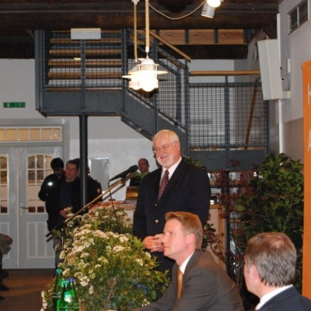 2008 Peter Harry Carstensen zu Gast in Appen